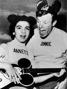 Mickey Mouse Club, watched it everyday!  Annette and Jimmy! :-)
