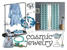 """Water baby, Cosmic Jewelry"" by cdeidara ❤ liked on Polyvore featuring Stephen Webster, IMAX Corporation, Yamazaki, Zimmermann, Vans, Miu Miu, Carolina Bucci, Alex and Ani, Bling Jewelry and Munro American"