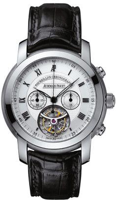 Audemars Piguet Jules Audemars Tourbillon Chronograph   #audemarspiguet #watches #coolwristwatches