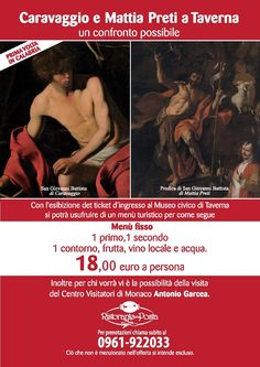 Un #Caravaggio per la prima volta in #Calabria