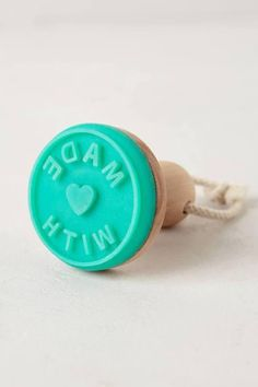 Made With Love Cookie Stamp / Anthropologie - http://AmericasMall.com/