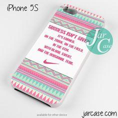 Nike Aztec Quote Phone case for iPhone 4/4s/5/5c/5s/6/6 plus