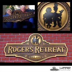 Rogers Retreat Sign - By JPro Studios