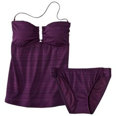 Mossimo® Womens 2-Piece Tankini Swimsuit