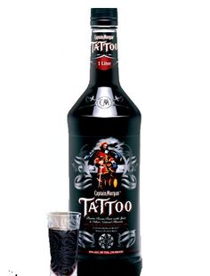 Captain Morgan Tattoo Rum. A touch of allspice gives this rum a unique kick.   spiritedgifts.com
