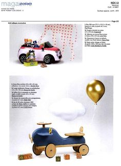Bianca and Family + Moulin Roty + Mini labo + Uncle Goose  Air France Magazine Novembre 2013