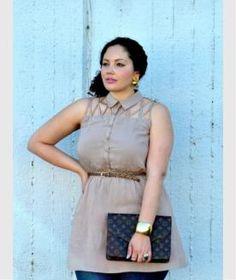 Tanesha Awasthi aus San Francisco gibt neben Beauty-Tipps auch jede Menge Ratschläge für coole Outfits