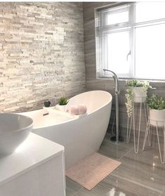 We have our dream bathroom 😍 as we know our lovely flat will only be a temporary stop gap before renting it on we are hesitant to spend 'too much' money on it but OMG! Bathroom Design Luxury, Modern Bathroom, Small Bathroom, Bathroom Inspo, Bathroom Ideas, Bathroom Design Inspiration, Upstairs Bathrooms, Feng Shui, Decoration