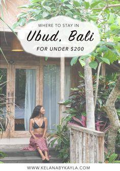 Top Ubud Accommodation for under $200 | Where to stay in Ubud | Ubud Hotels | Bali