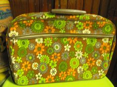 Vintage Mod Funky Daisies/Flowers Soft Sided by peacenluv72, $24.50