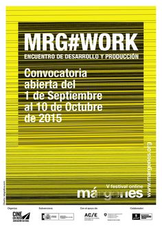 El Festival Márgenes crea #MRGWORK, un encuentro de desarrollo y producción para proyectos de cine independiente. La convocatoria está abierta hasta el 10 de octubre.