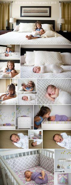 Sondra Kay Photography | Lifestyle Newborn Photography Session Bottom crib shot... Ugh. I die!