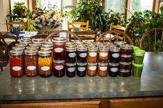 My jams, jellies, salsas and sauces.