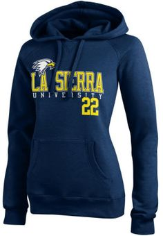 La Sierra University Golden Eagle Women's Sport Hooded Sweatshirt