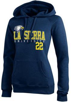La Sierra University Golden Eagle Women's Sport Hooded Sweatshirt