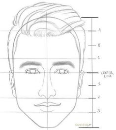 Facial proportions twenty first century art and design creative how to draw a face step by step step 8 by olga ccuart Gallery