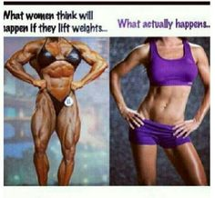 Truth about weight lifting for women!