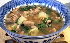 CHINESE BEEF SOUP - Linda's Low Carb Menus