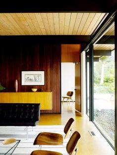 Modern Interiors Design : Steinman House (1956) by Craig Ellwood restored by BoydDesign #MidCenturyModern