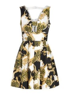 Baroque prints are huge this season so step out in style with this skater dress by Elise Ryan. £44.99  at New Look