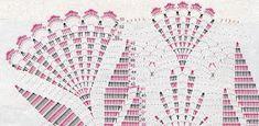 Free crochet patterns and video tutorials: How to crochet umbrella free pattern Crochet Wedding Dress Pattern, Crochet Bedspread Pattern, Crochet Bikini Pattern, Crochet Blanket Patterns, Crochet Sunflower, Crochet Daisy, Free Crochet Bag, Easy Crochet, Purse Patterns