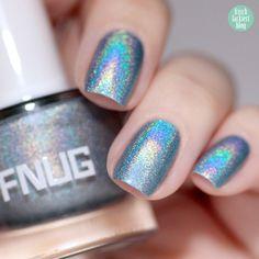 FNUG Holographic  Nailpolish – Futuristica – swatch by frischlackiert