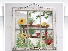 Tremain Street Cottages - paned painted window - via Remodelaholic