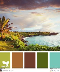 Really nice earthy colors.  Maybe good for adventure magazine kind of stuff.