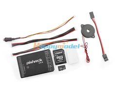 66.25$  Watch now - http://alihh4.worldwells.pw/go.php?t=32745876901 - Pixhack 2.8.4 32-bit Flight Controller Based on Pixhawk Autopilot UAV Drone Multicopter W/ Case Buzzer/Safety Switch /SD Card 66.25$
