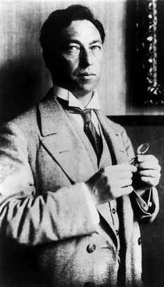 Wassily Kandinsky. Photo attributed to Gabriele Münter.