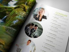Sustainable Annual Report 2012 by Lemongraphic , via Behance