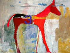 Jylian Gustlin - Animal - Horse Contemporary Artist - Figurative Painting