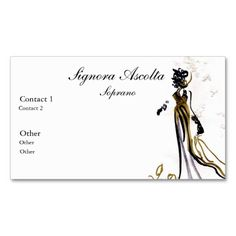 Soprano business card