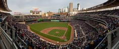 Target Field Home of the MN Twins  I've got Spring fever!
