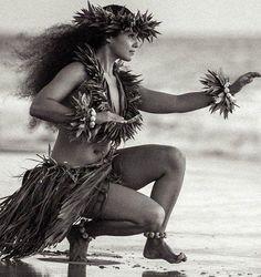A Classic Hawaiian Costume For Hula Dancing