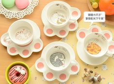 Aliexpress.com : Buy 1 set Cute Kitty Coffee Tea Cup with Kawaii Cat's Paw Coaster Cartoon Ceramic Tea cup cat mug Gift for friends NO 613 from Reliable cup gift set suppliers on Storm Stationery  | Alibaba Group
