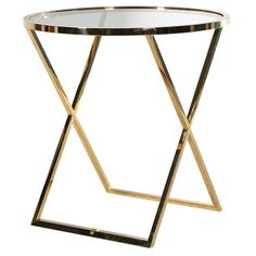 75Cm Round Side Table