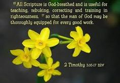 Image result for 2 Timothy 3:16-17 image