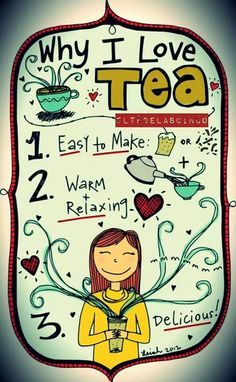 Easy, relaxing tea.