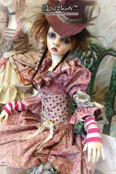 dt Pretty Dolls, Beautiful Dolls, Victor Victoria, Elves And Fairies, Sea Crafts, Glamour Dolls, Gothic Dolls, Doll Repaint, Doll Maker