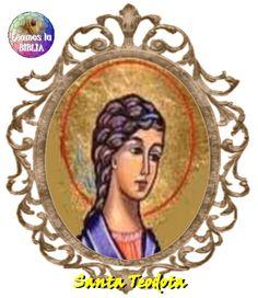 Leamos la BIBLIA: Santa Teodota
