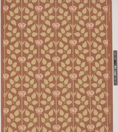 Wallpaper | Bradbury & Bradbury (Manufacturer) | 1995.40 -- Historic New England