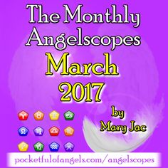 💎 💜 To read YOUR MARCH 2017 Angelscope CLICK HERE ➡ 💜 💎 http://www.pocketfulofangels.com/angelscopes 💎 💜 💎 To discover what YOUR star sign says about you CLICK HERE ➡ 💜 💎 http://www.tranquilwaters.uk.com/astrology 💜 Angelscopes are very much like horoscopes, but are written with angelic inspiration, using Angel message cards for guidance. ♈ ♉ ♊ ♋ ♌ ♍ ♎ ♏ ♐ ♑ ♒ ♓  #angels #free #angelcards #guidance #angelscopes #horoscopes #zodiac #starsign #aquarius #pisces #aries #taurus #gemini…