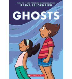 We are really looking forward to reading Raina Telgemeier's upcoming graphic novel Ghosts! Due out fall of 2016!
