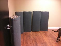 The complete guide on how to make DIY Bass Traps and save hundreds of dollars vs. buying acoustic treatment new.