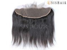 7A Brazilian Virgin Hair 13×4″ Lace Frontal Closure Silky Straight Wavy