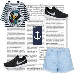 ✨ by lightbluefashion on Polyvore featuring polyvore fashion style Topshop NIKE