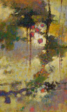 "Forces Of Grace | oil on canvas | 40 x 24"" | 2010 Rick Stevens"