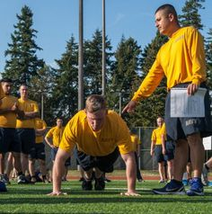 Navy Physical Conditioning. Fitness Training - Fitness Ideas - Fitness Exercise - Workout Plans - Navy - Armed Forces -Get Fit