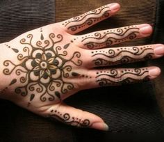 simple henna palm - Google Search